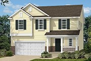 New Homes in Wake Forest, NC - The Catherine II Basement