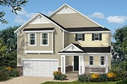 New Homes in Wake Forest, NC - The Murrow II Modeled
