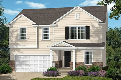 New Homes in Wake Forest, NC - Elevation A