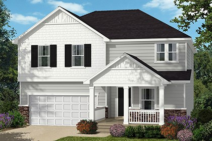 New Homes in Wake Forest, NC - Elevation C