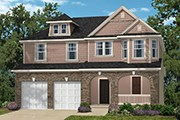 New Homes in Wake Forest, NC - The Kuralt Modeled