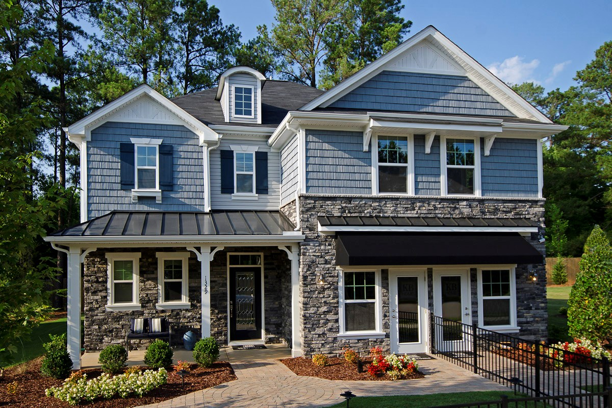 New Homes in Wake Forest, NC - The Meadows - Basement Homes The Murrow