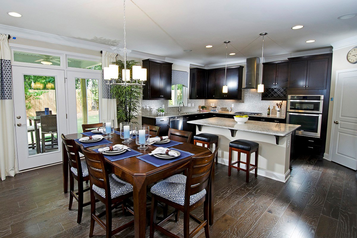 New Homes in Wake Forest, NC - The Meadows - Basement Homes The Murrow Kitchen