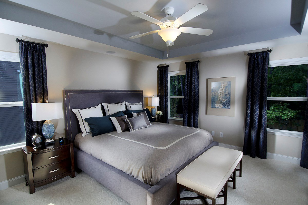 New Homes in Wake Forest, NC - The Meadows The Murrow Master Suite