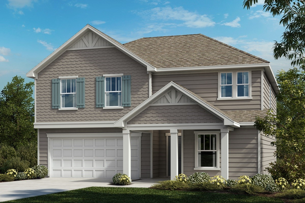 New Homes in Youngsville, NC - Freeman Farms The Coltrane II