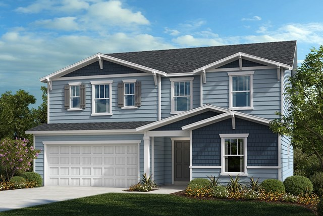 New Homes in Fuquay-Varina, NC - The Morgan Elevation B