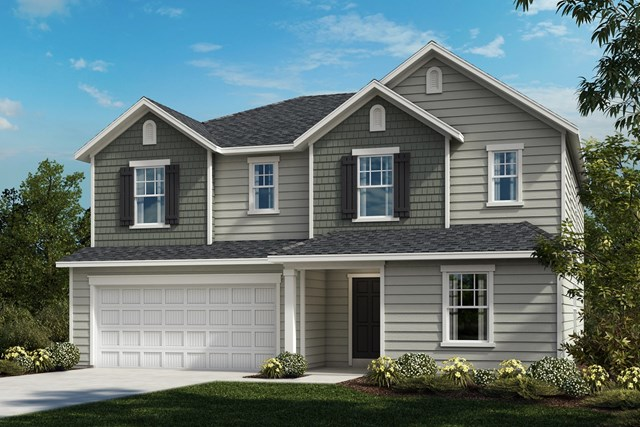 New Homes in Fuquay-Varina, NC - The Morgan Elevation C