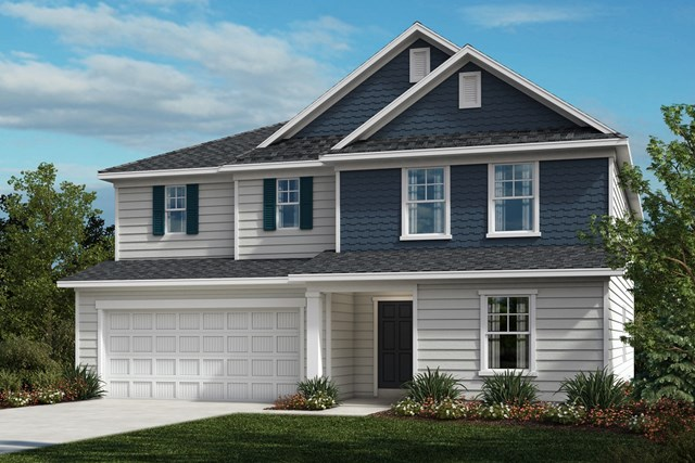 New Homes in Fuquay-Varina, NC - The Morgan Elevation D