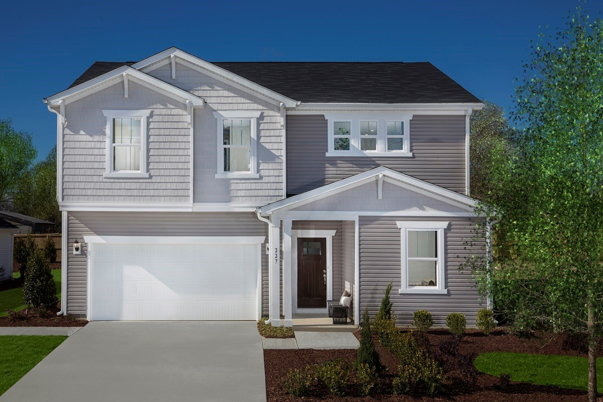 New Homes in Fuquay-Varina, NC - Union Station The Coltrane II