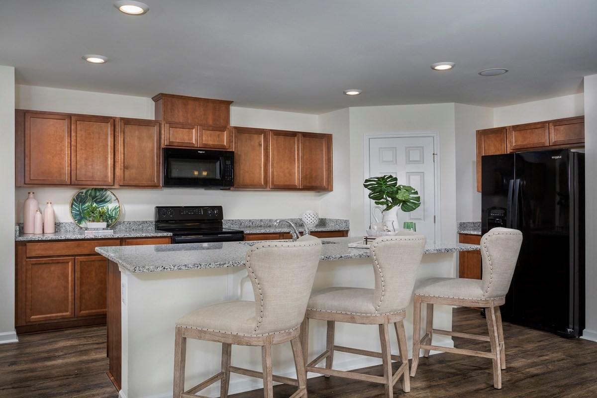 New Homes in Fuquay-Varina, NC - Union Station The Griffith II Kitchen