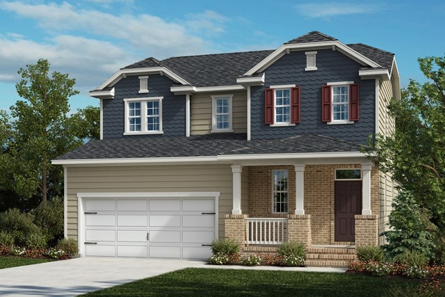 New Homes in Cary, NC - The Gaston Elevation X