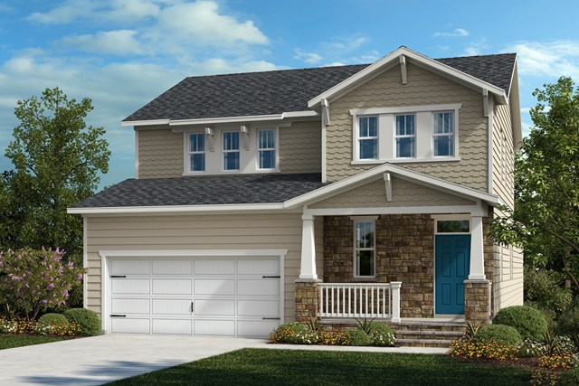 New Homes in Cary, NC - The Gaston Elevation Y