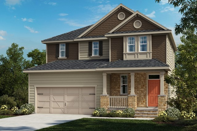 New Homes in Cary, NC - The Gaston Elevation Z