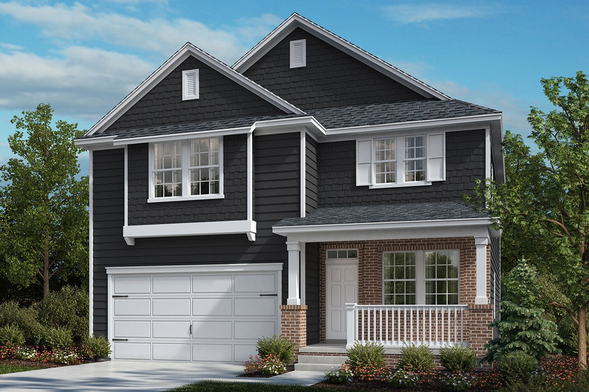 New Homes in Cary, NC - Wynwood South The Norman Elevation X