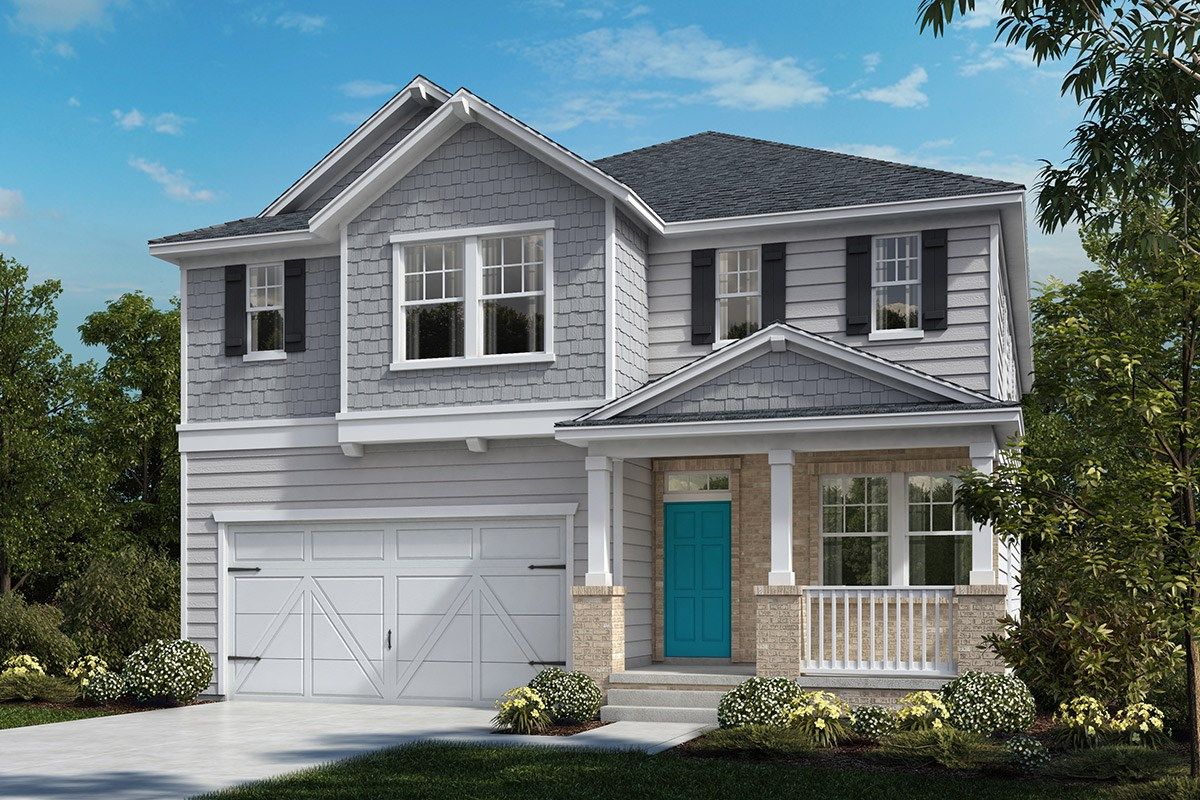 New Homes in Cary, NC - Wynwood South The Norman Elevation Z