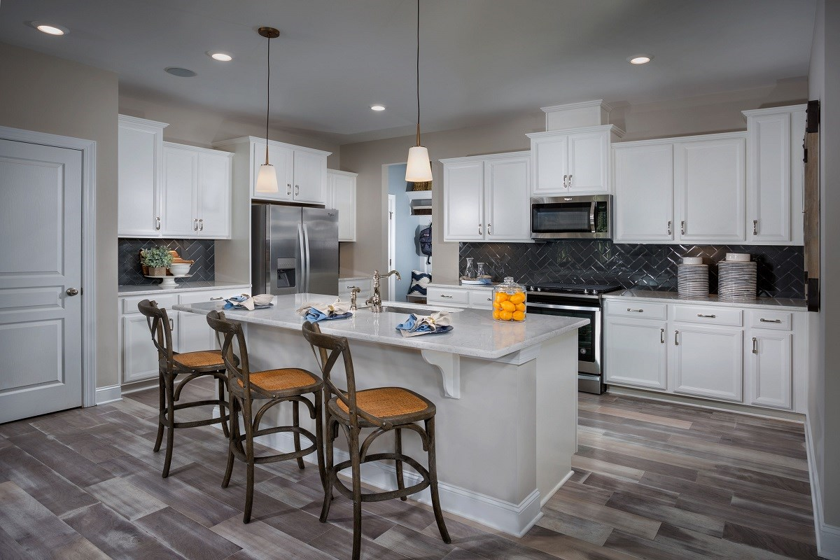 New Homes in Cary, NC - Wynwood South The Jordan II - Kitchen