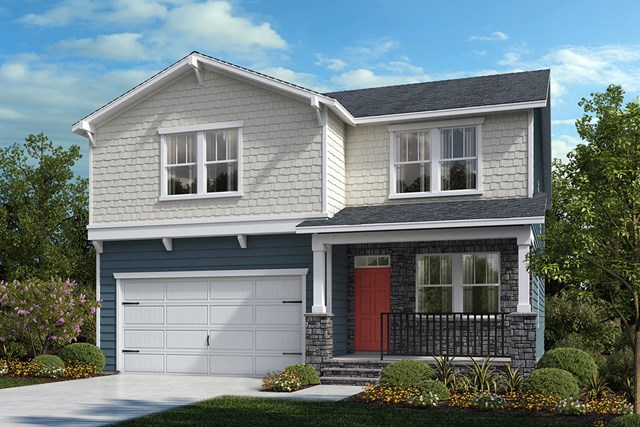 New Homes in Cary, NC - Elevation Y