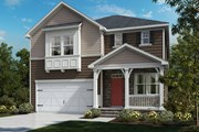 New Homes in Cary, NC - The Hickory II with Basement