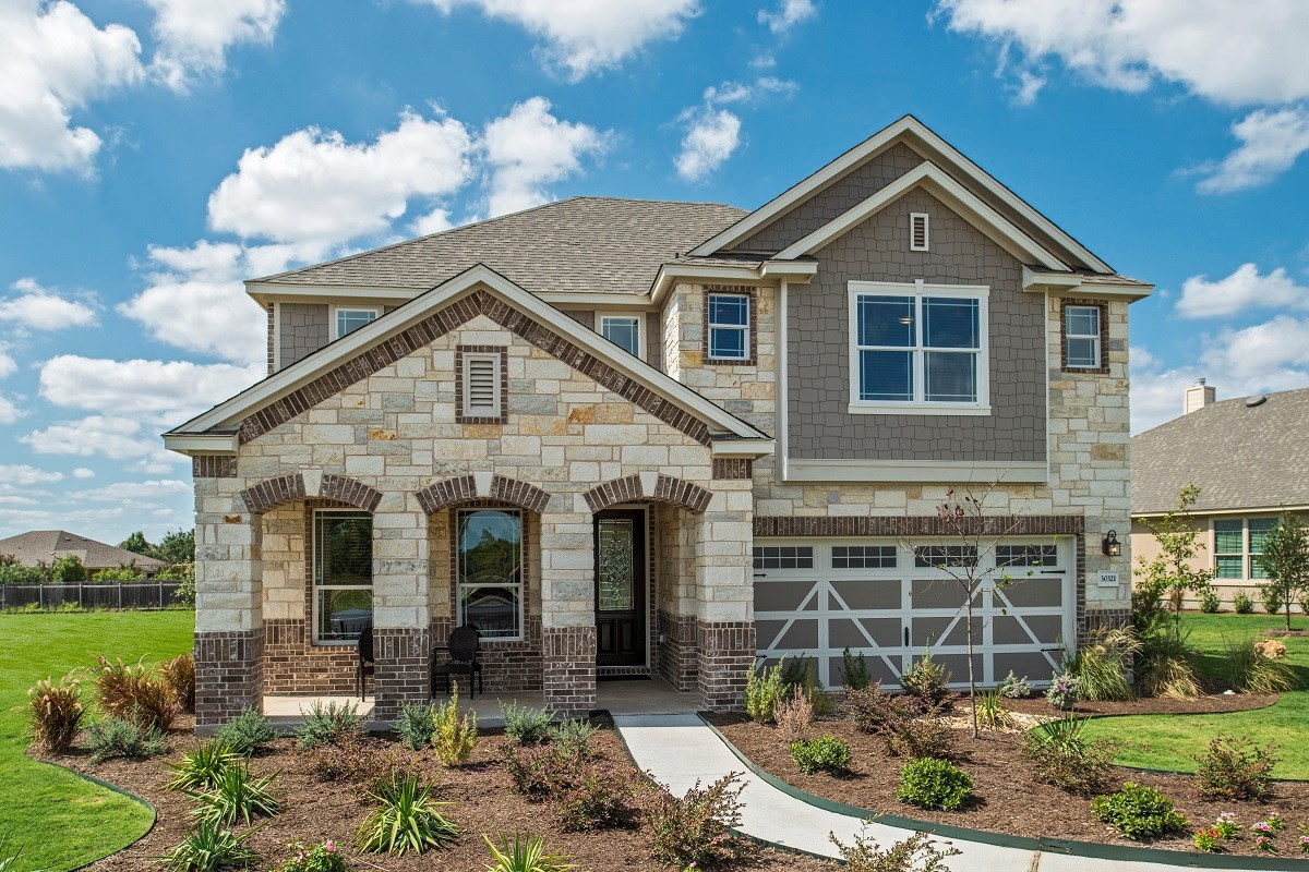 New Homes in Georgetown, TX - Berry Creek The A-3023