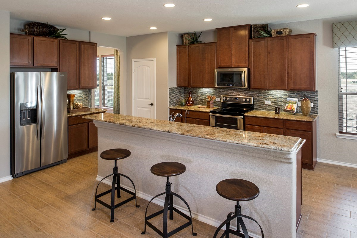 New Homes in Georgetown, TX - Berry Creek The A-3023 Kitchen