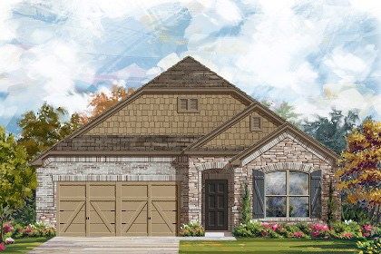 New Homes in Georgetown, TX - Plan A-1852 C