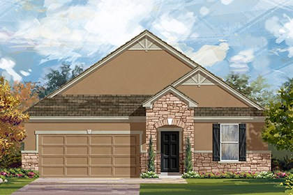 New Homes in Georgetown, TX - Plan A-1852 D