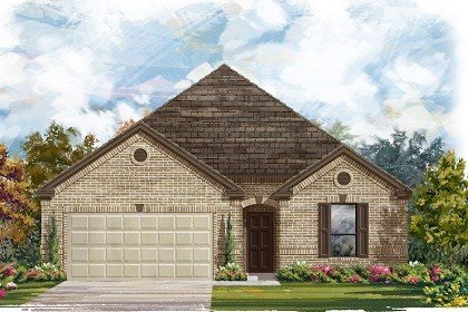 New Homes in Georgetown, TX - Plan A-2004 A