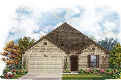 New Homes in Georgetown, TX - The A-2004 A scheme 8