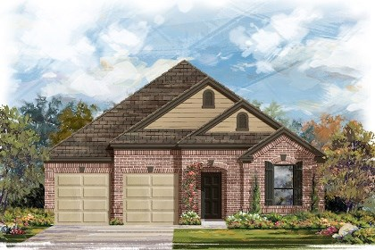 New Homes in Georgetown, TX - Plan A-2004 B