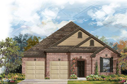 New Homes in Georgetown, TX - The A-2004 B scheme 9