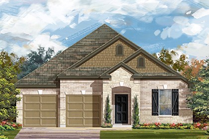 New Homes in Georgetown, TX - The A-2004 C scheme 5