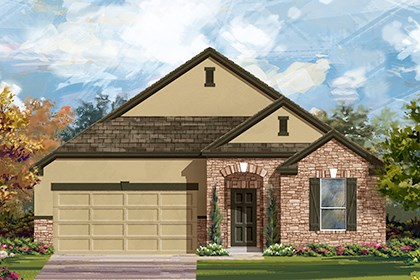New Homes in Georgetown, TX - Plan A-2004 D