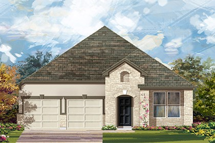 New Homes in Georgetown, TX - Plan A-2089 D