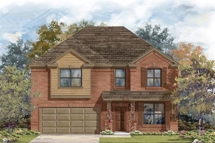 New Homes in Georgetown, TX - Plan A-2755 B