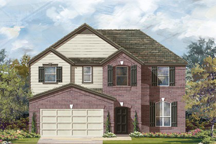 New Homes in Georgetown, TX - Plan A-2797 B