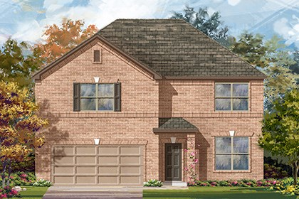New Homes in Georgetown, TX - Plan A-3417 A