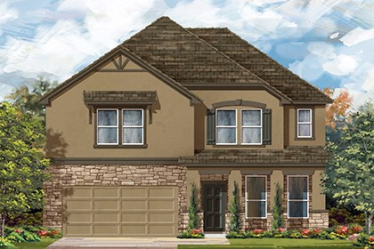 New Homes in Georgetown, TX - Plan A-3417 D