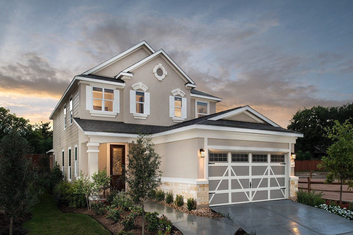 New Homes in Austin, TX - Brentwood Villas Plan F-1909
