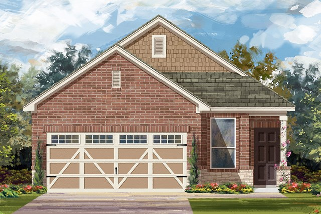 New Homes in Austin, TX - Plan F-1353 K