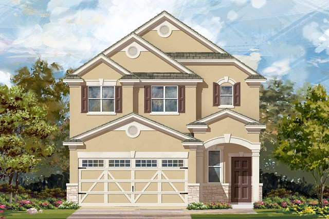 New Homes in Austin, TX - Plan F-1601 J