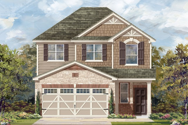 New Homes in Austin, TX - Plan F-1601 K