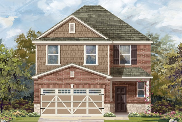 New Homes in Austin, TX - Plan F-2239 K