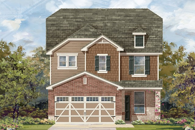 New Homes in Austin, TX - Plan F-2411 K