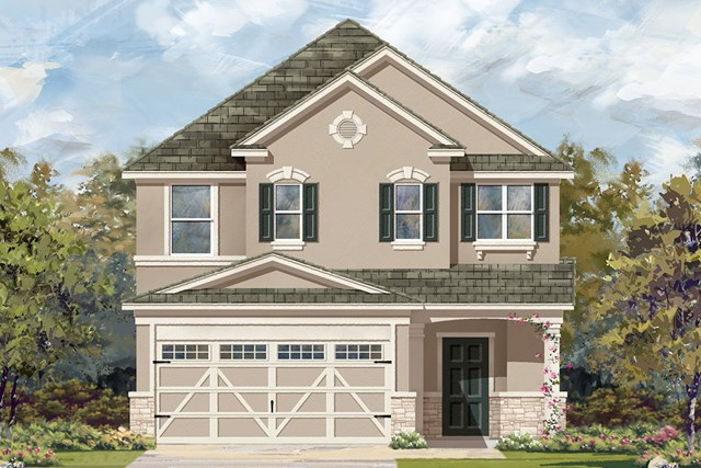 New Homes in Austin, TX - Plan F-2495 J