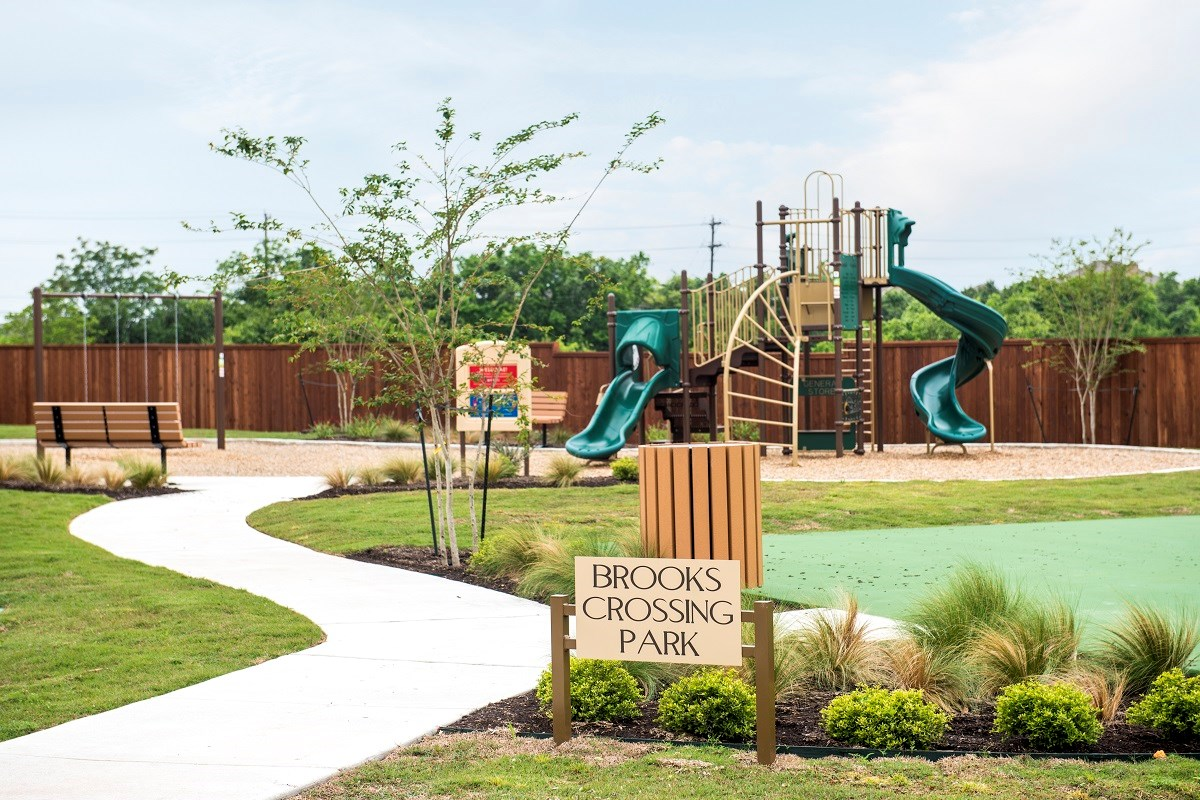 New Homes in Kyle, TX - Brooks Crossing Community Park