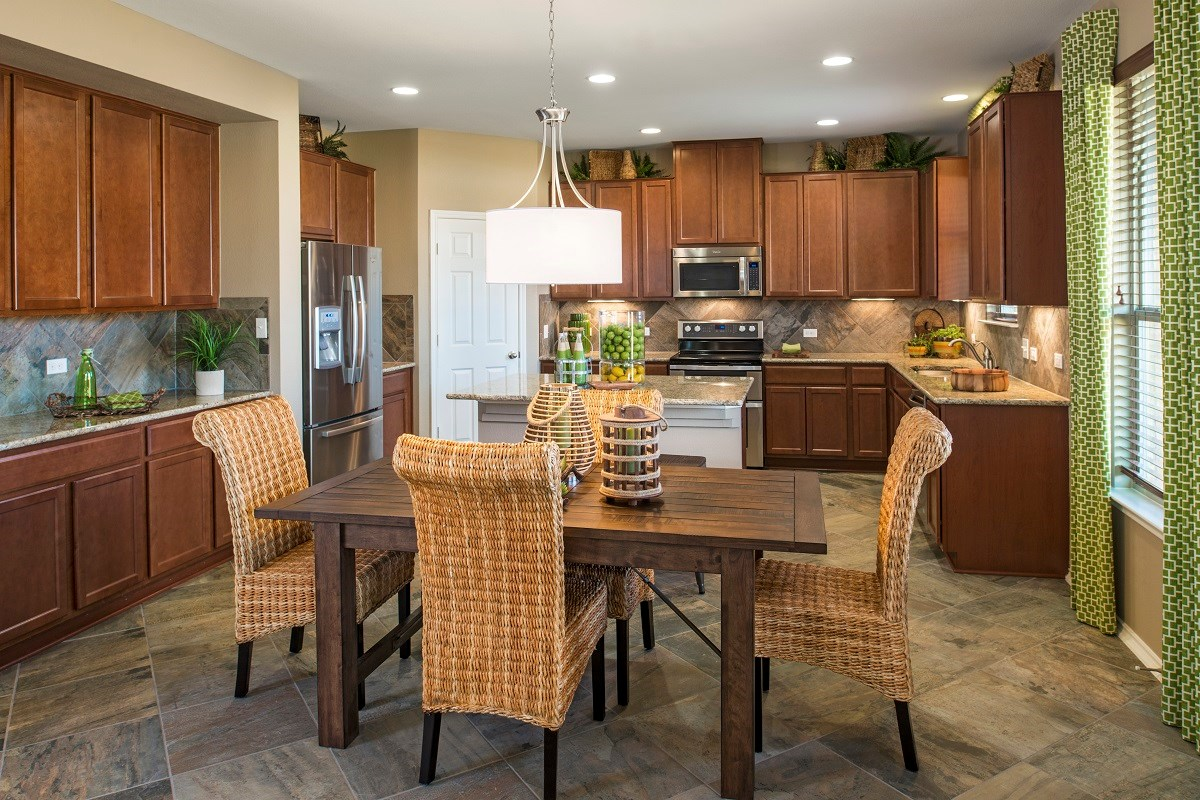 Kitchen For New Homes New Homes For Sale In Kyle Tx Brooks Crossing Community By Kb Home