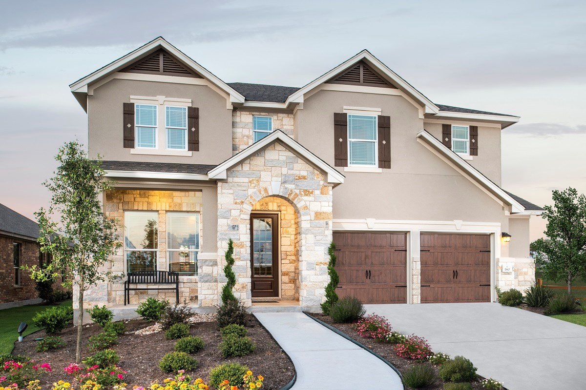 New Homes in Kyle, TX - Brooks Crossing Plan A-2755