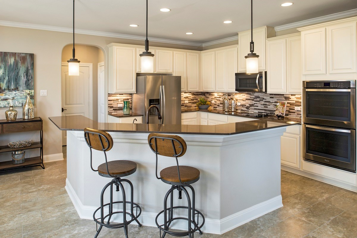 New Homes in Kyle, TX - Brooks Crossing Plan A-2755 Kitchen