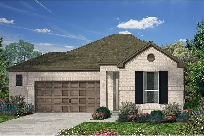 New Homes in Kyle, TX - Plan E-1591 B