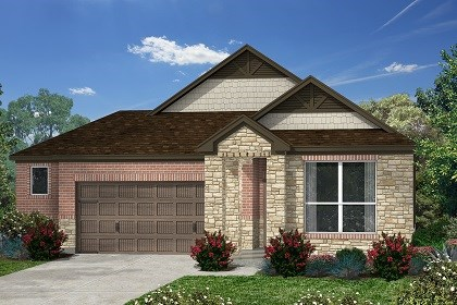 New Homes in Kyle, TX - Plan E-1591 D